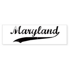 Vintage Maryland Bumper Bumper Sticker