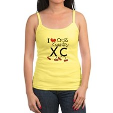 I heart Cross Country Running Ladies Top