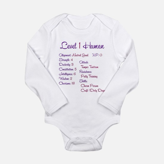 RPGirl Long Sleeve Infant Bodysuit