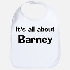 It's all about Barney Bib