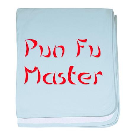 Pun Fu Master baby blanket