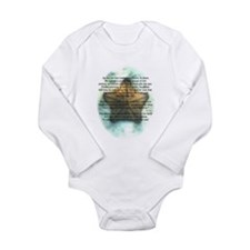 Starfish Wisdom Long Sleeve Infant Bodysuit