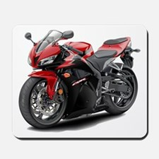 CBR 600 Red-Black Bike Mousepad