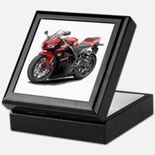 CBR 600 Red-Black Bike Keepsake Box