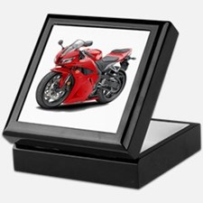 CBR 600 Red Bike Keepsake Box