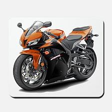 CBR 600 Orange-Black Bike Mousepad