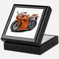 CBR 600 Orange Bike Keepsake Box