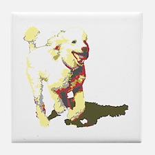 Fetch! Tile Coaster