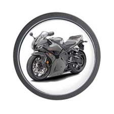 CBR 600 Grey Bike Wall Clock