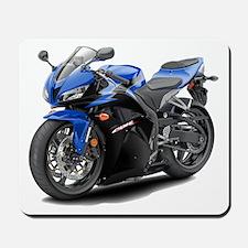 CBR 600 Blue-Black Bike Mousepad