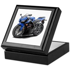 CBR 600 Blue-Black Bike Keepsake Box