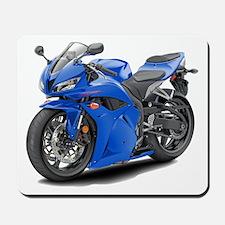 CBR 600 Blue Bike Mousepad