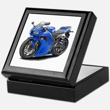 CBR 600 Blue Bike Keepsake Box