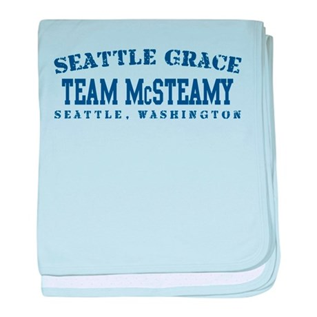 Team McSteamy - Seattle Grace baby blanket