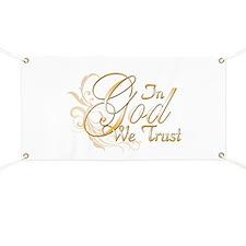 In God We Trust Banner