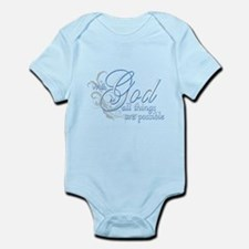 With God All Things are Possi Onesie