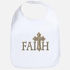 Man of Faith Bib