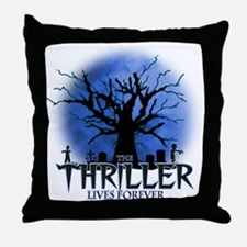 He Lives Forever Throw Pillow