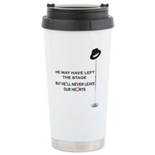 Never Leave Our Hearts Travel Mug