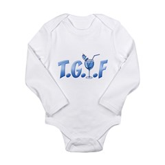 T.G.I.F Long Sleeve Infant Bodysuit
