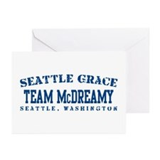 Team McDreamy - Seattle Grace Greeting Cards (Pk o