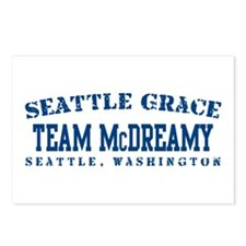 Team McDreamy - Seattle Grace Postcards (Package o