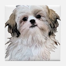 Shih Tzu Lover Tile Coaster