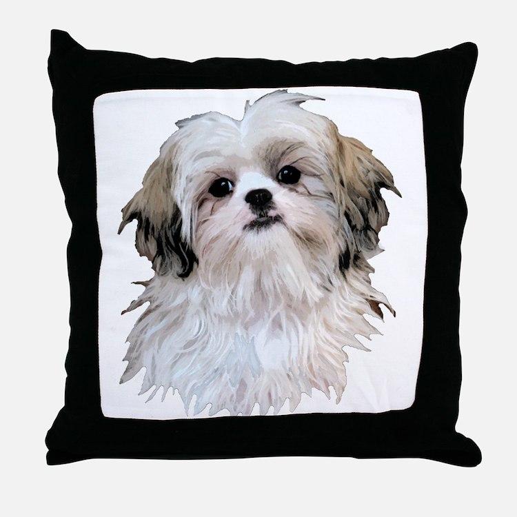 Shih Tzu Lover Throw Pillow