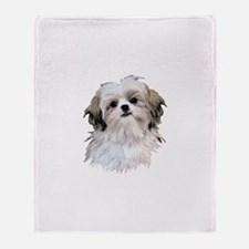 Shih Tzu Lover Throw Blanket