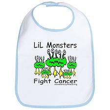LiL Monsters Fight Cancer Bib