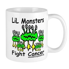 LiL Monsters Fight Cancer Mug