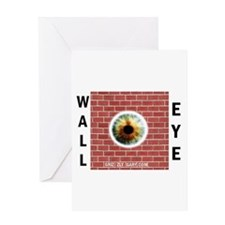 Wall-Eye Greeting Card