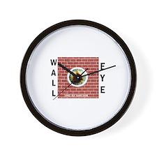 Wall-Eye Wall Clock