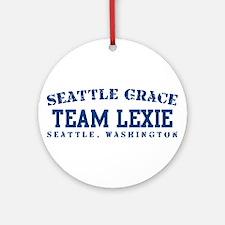 Team Lexie - Seattle Grace Ornament (Round)