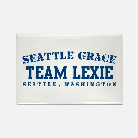 Team Lexie - Seattle Grace Rectangle Magnet