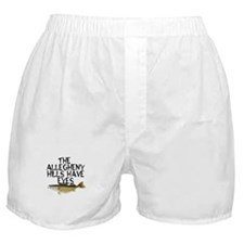 Hills Have Walleyes Boxer Shorts