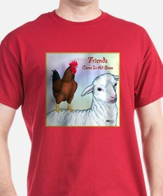 Friends of All Sizes T-Shirt