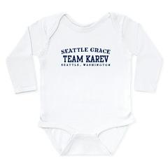 Team Karev - Seattle Grace Long Sleeve Infant Body