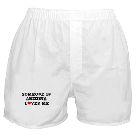 Someone in Arizona Boxer Shorts
