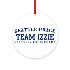 Team Izzie - Seattle Grace Ornament (Round)