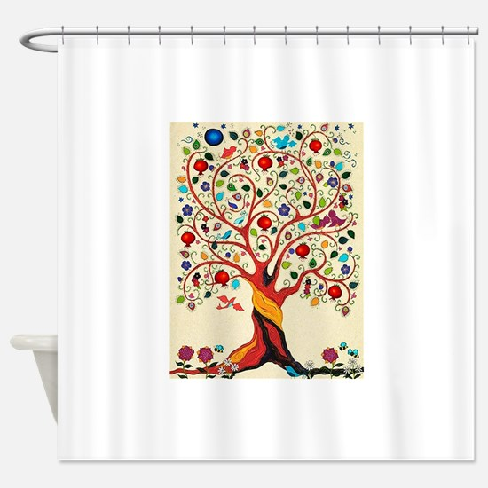 TREE OF LIFE 7 Shower Curtain