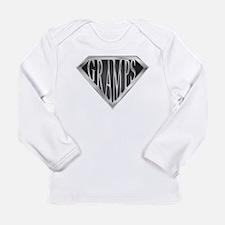 SuperGramps(metal) Long Sleeve Infant T-Shirt