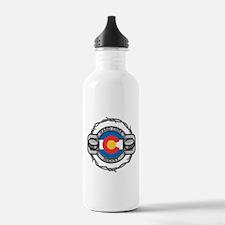 Colorado Hockey Water Bottle