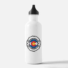 Colorado Soccer Water Bottle