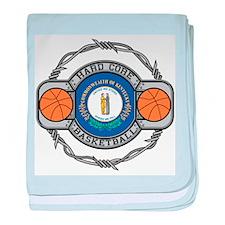 Kentucky Basketball baby blanket