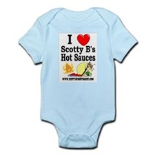 Infant Creeper /w Scotty B's design