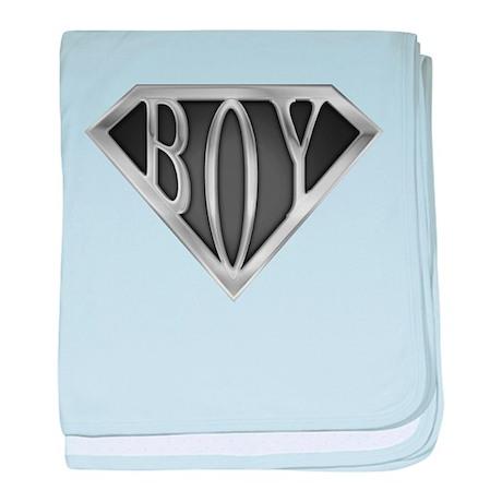 SuperBoy(Metal) baby blanket