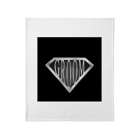 SuperGroom(metal) Throw Blanket
