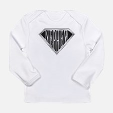 SuperNephew(metal) Long Sleeve Infant T-Shirt