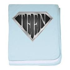 SuperTeen(metal) baby blanket